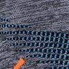 Black Melange/ Atlantic/ Orange Shiny